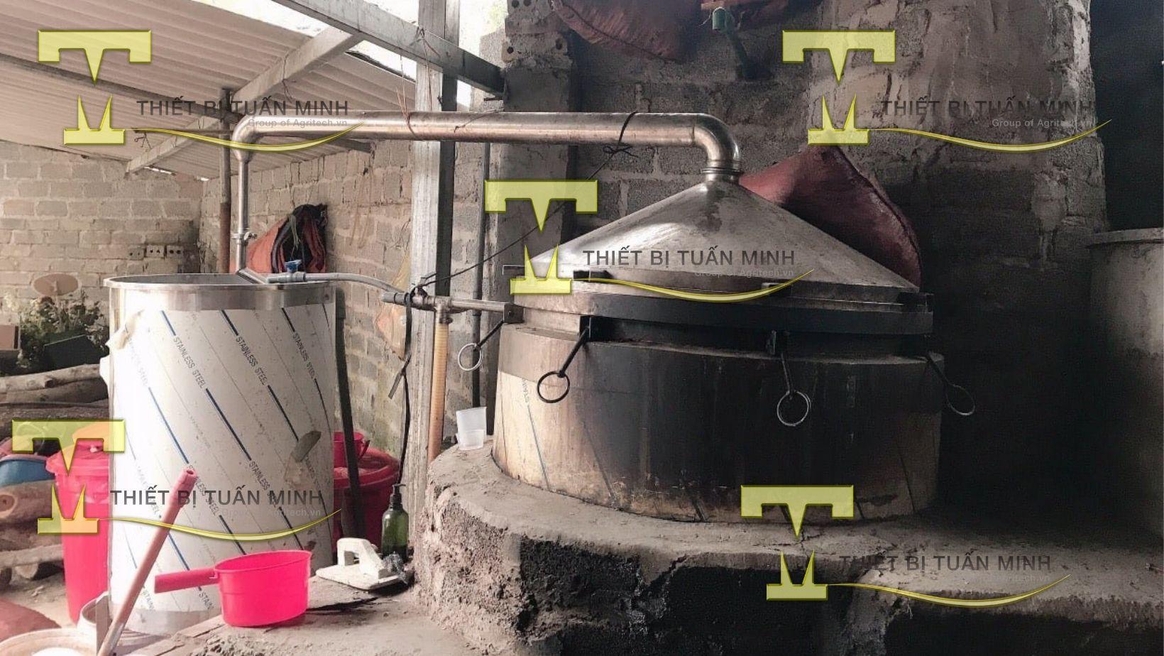 nồi nấu tinh dầu 500 lít