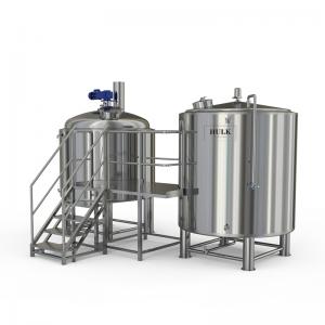 thiết bị nấu trà kombucha quy mô công nghiệp