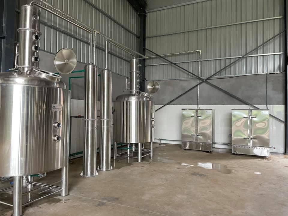 Hệ thống nấu rượu công suất lớn 1